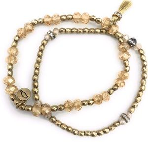 Chloe and Isabel stretch bracelets